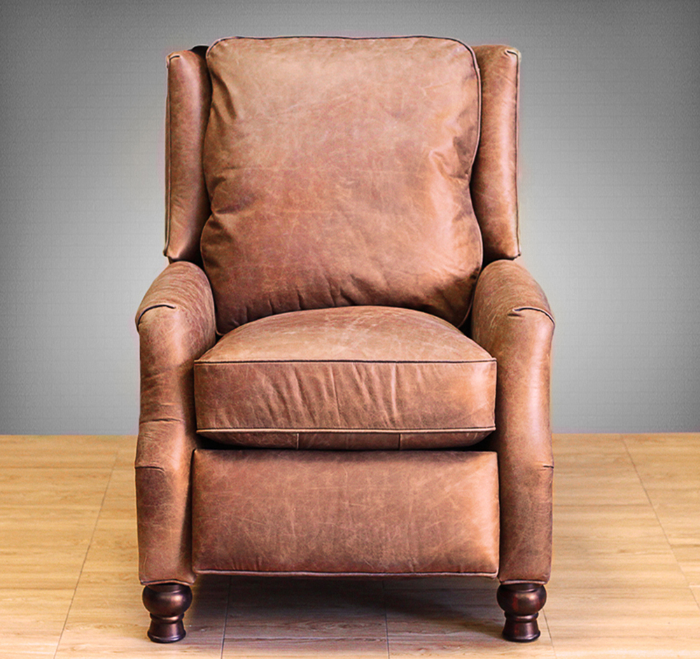 Barcalounger Ashton II Recliner Chair Havana Brown Leather Recliner & Barcalounger Ashton II Recliner Chair - Leather Recliner Chair ... islam-shia.org