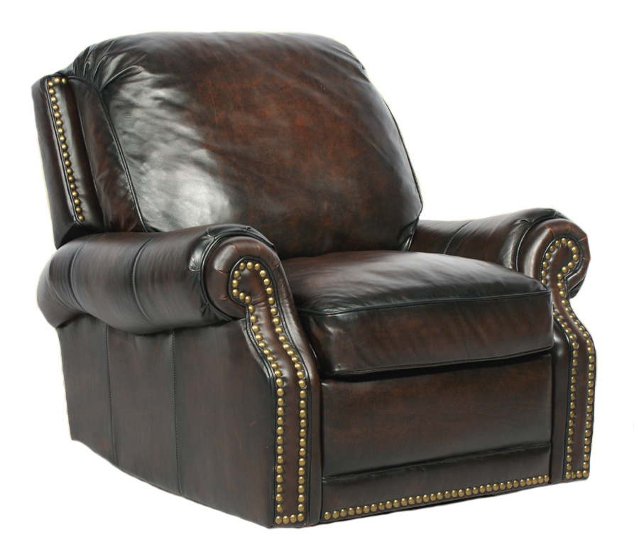 Barcalounger Premier II Leather Recliner Chair