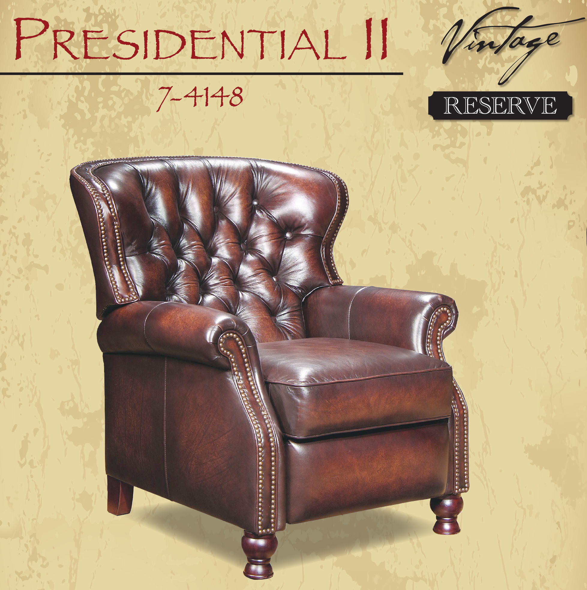 Barcalounger Presidential II Recliner Stetson Coffee Leather Chair  sc 1 st  Vitalitywebb.com & Barcalounger Presidential II Leather Recliner Chair - Leather ... islam-shia.org