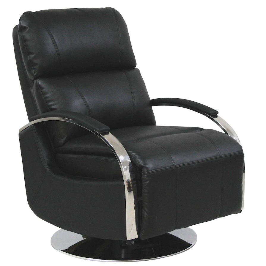 Barcalounger Regal II Black Leather Recliner Chair  sc 1 st  Vitalitywebb.com & Barcalounger Regal II Leather Recliner Chair - Leather Recliner ... islam-shia.org
