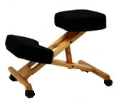 BetterPosture Classic Wood Kneeling Chair F1450