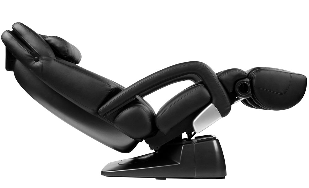 Black Leather HT 7450 Zero Anti Gravity Massage Chair HT7450 Recliner BRAND N