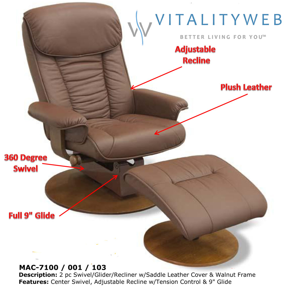 Swivel Recliner Chairs Swivel Recliner Chair Leather Photos 89 – Reclining Chairs with Ottomans