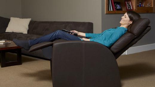 Positive Posture Cafe Zero Gravity Recliner Chair A True