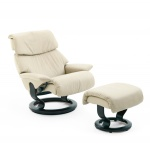 Stressless Dream Recliner Chairs and Ottoman